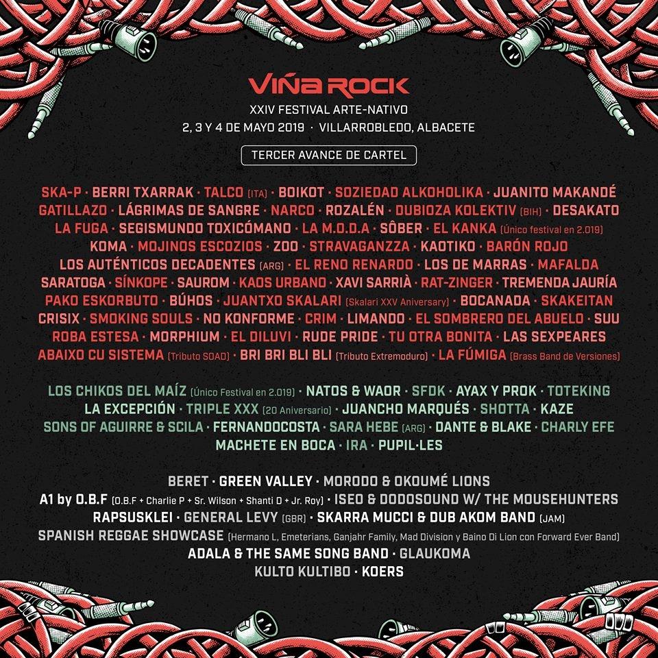 Viña Rock 2019 Festivales música España