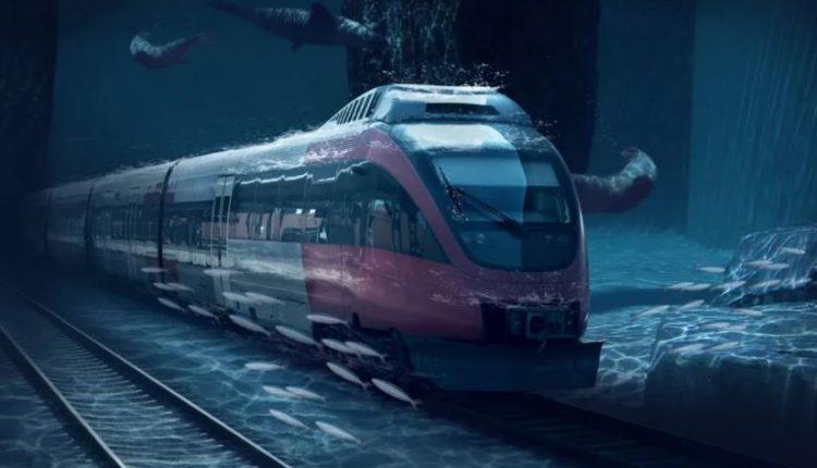China planea construir un tren submarino que llegue a Estados Unidos