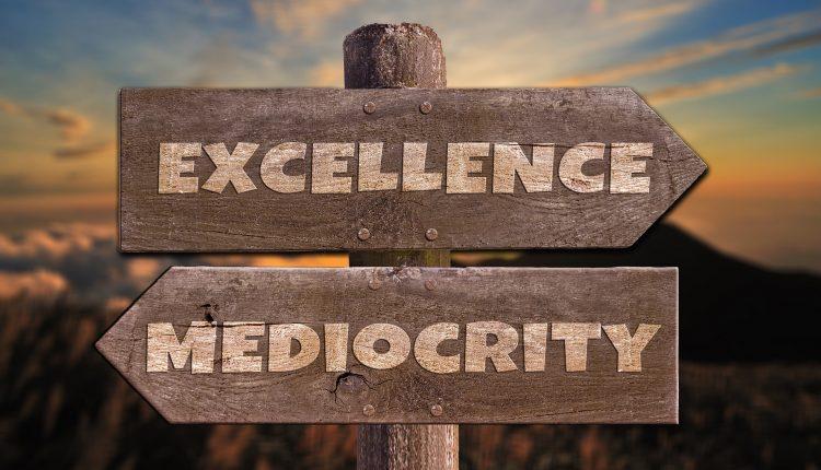 La mediocridad: ¿Qué es?